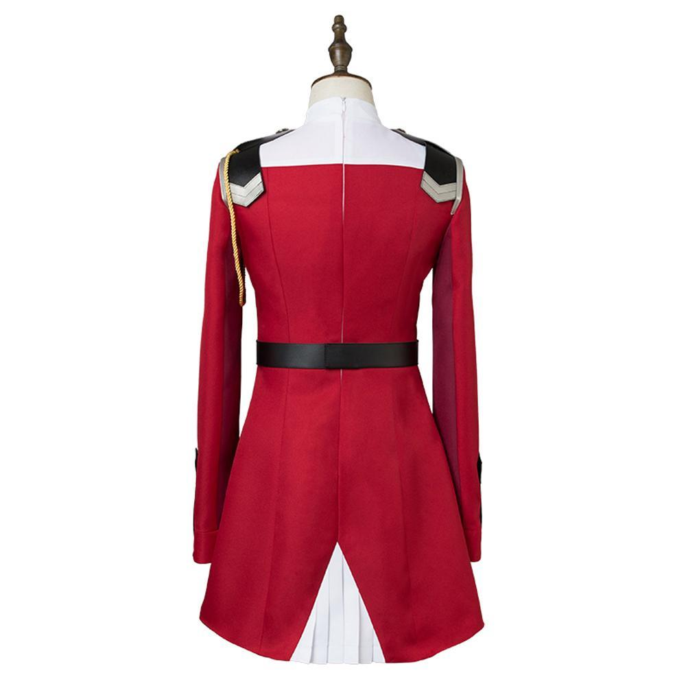 DARLING 02 Zero Two Cosplay Costume Zero Two Women Dress