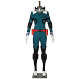 My Hero Academia Izuku Midoriya Deku Cosplay Costume Halloween Battle Suit