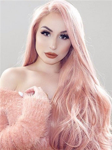 products/Long_Campsis_Grandiflora_Peach_Pink_Synthetic_Lace_Front_Wig_5.jpg