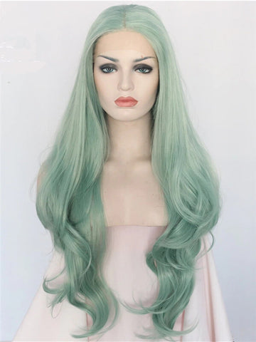 products/Long_Medium_Sea_Green_Wave_Synthetic_Lace_Front_Wig_2.jpg