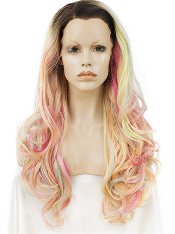 products/Long_Pastel_Multicolor_Pink_Blonde_Mixed_Wave_Synthetic_Lace_Front_Wig_3.jpg