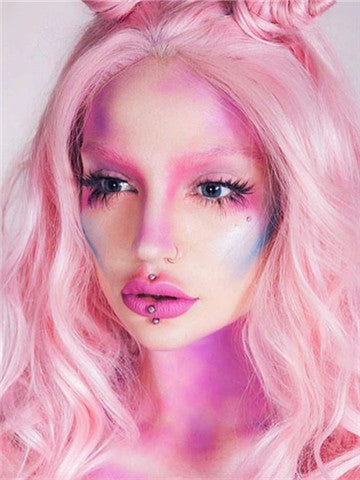 products/Long_Pink_Wave_Cupcake_Synthetic_Lace_Front_Wig_4.jpg