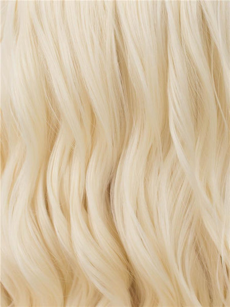 LIGHT BLONDE SPIRAL CURL Synthetic Lace Front Wig