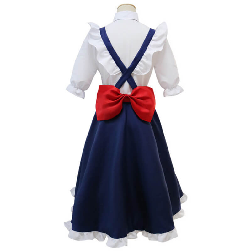 Miss Kobayashi's Dragon Maid Tohru Cosplay Costume Dress Uniforms