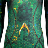 Movie Aquaman Mera Queen Cosplay Costume Women Bodysuit Jumpsuits