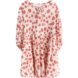 spring new Korean version of the Japanese cute red wave point loose dress children 590134821523#4212739075893