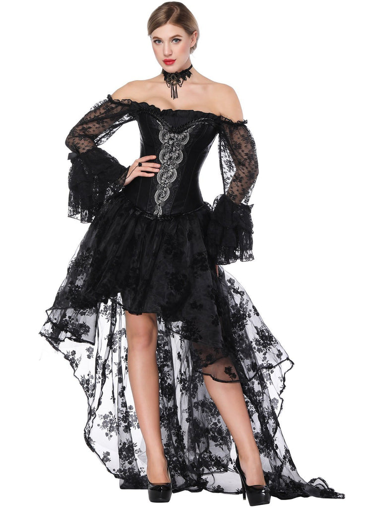 Halloween Steampunk Corset Skirt