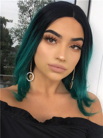 products/Short_Black_To_Green_Ombre_Bob_Synthetic_Lace_Front_Wig_11.jpg