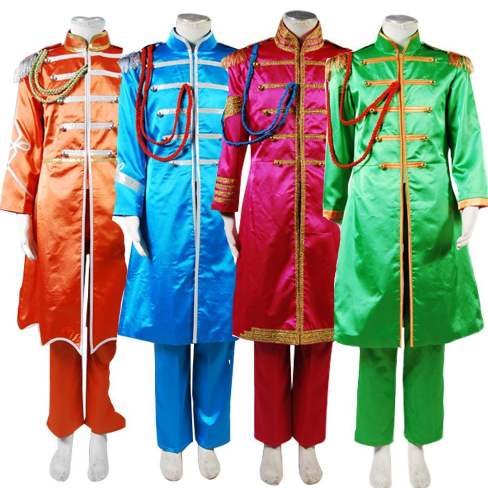 The Beatles Costume Sgt. Pepper's Lonely Hearts Club Band George Harrison Cosplay Costume