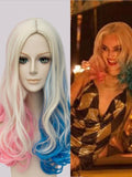 Cosplay Clown Female Gradient Wig