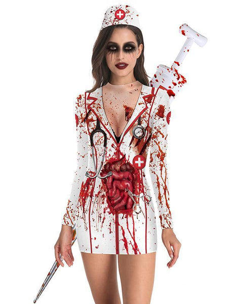 Halloween Sexy Tight Party Party Dress
