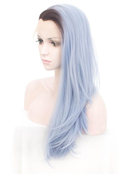 Long Straight Synthetic Glueless Lace Front Wigs - Imstylewigs