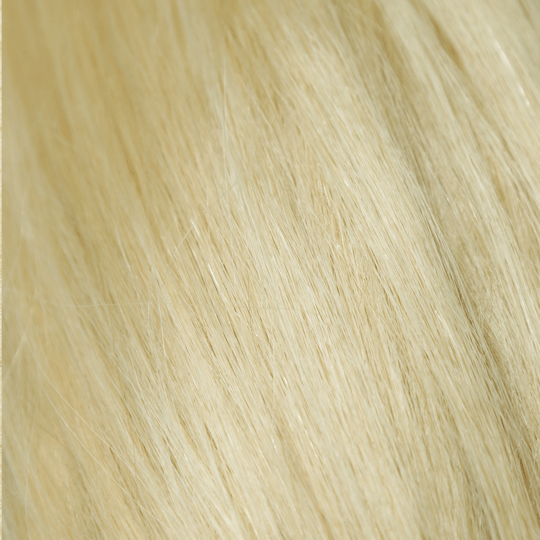 "20"" 10 Pieces Platinum Blonde #613 Clip In Virgin Human Hair Set Extension"