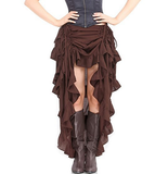 Women Pirate Outfit Goth Pirate Dress Halloween Cosplay Costume