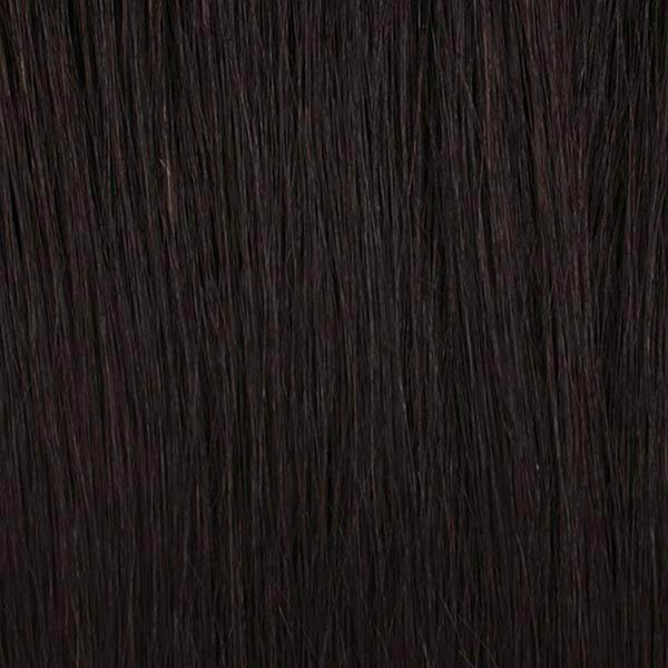 Outre 100% Human Hair Lace Wigs Natural Black Outre Mytresses Black Label 100% Unprocessed Human Hair  360 Hand Tied Lace Wig - NATURAL BOHEMIAN