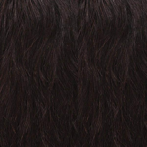Outre 100% Human Hair Lace Wigs Natural Brown Outre Mytresses Black Label 100% Unprocessed Human Hair  360 Hand Tied Lace Wig - NATURAL BOHEMIAN