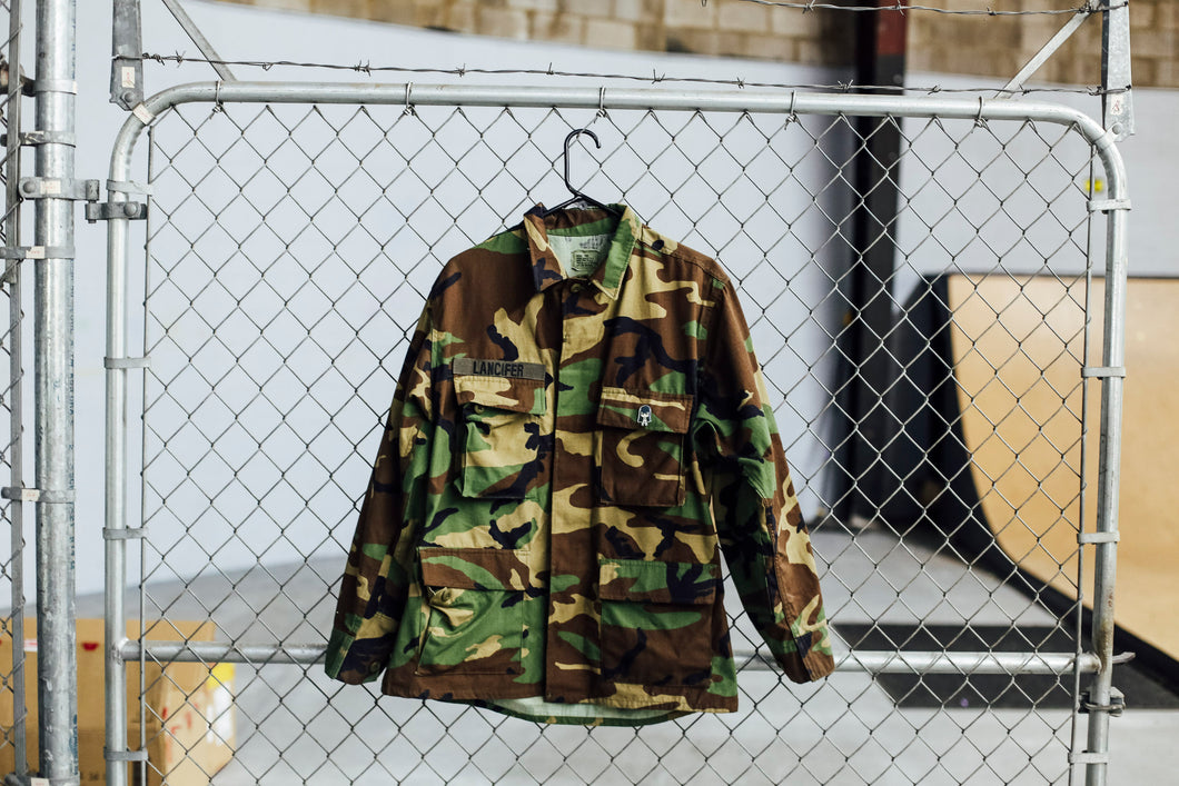 Braaah Custom Camo Jacket