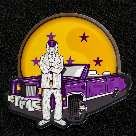 Frieza's Final Mixtape Sticker