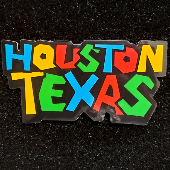 Super Houston Texas Sticker
