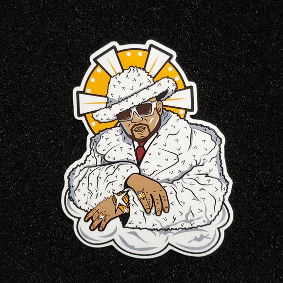 Big Pimp'n The Sky Sticker