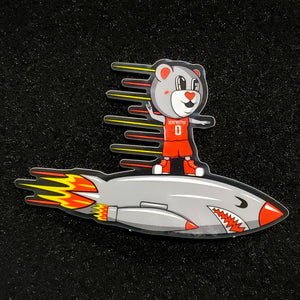 Rocket Rider Sticker