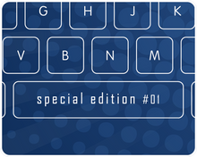 Load image into Gallery viewer, Glass Keyboard - Limited Football Edition