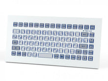 Load image into Gallery viewer, Industrial foil-covered keyboard for front-side integration KF02003 / KF02001