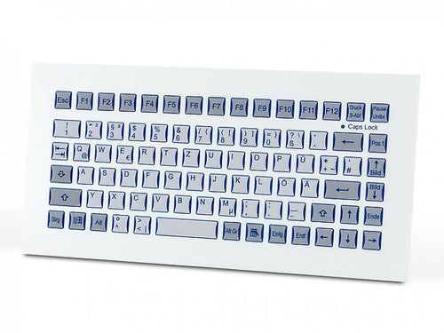 Industrial foil-covered keyboard for front-side integration KF02003 / KF02001