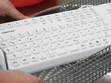 Load image into Gallery viewer, Robust Induproof™ 2 silicone keyboard in grey colour - KG02005