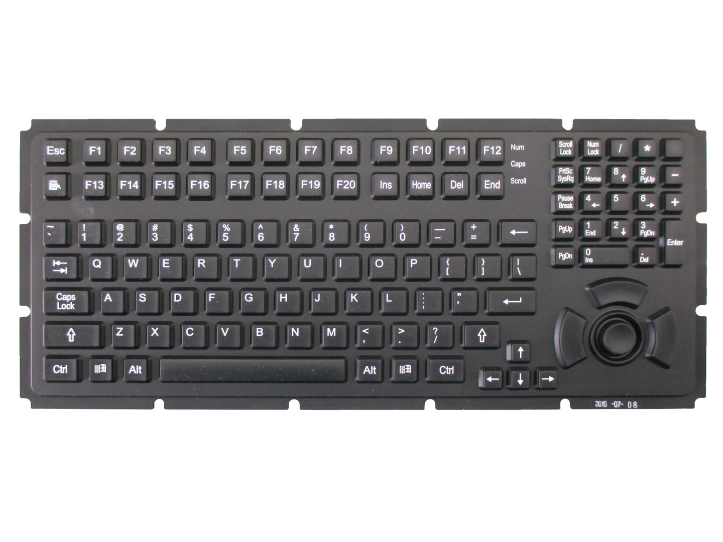 TKG-113-MB: OEM silicone keyboard set with silicone keypad and controller board