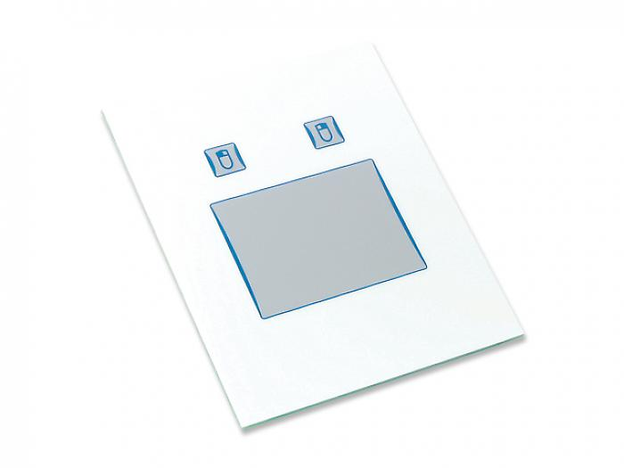 Touchpad front panel with threaded bolts - KH02010