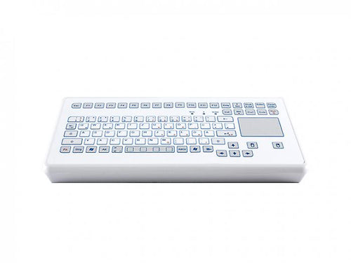 Industrial foil desktop keyboard with an integrated touchpad - KS18253 / KS18251
