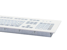 Load image into Gallery viewer, Industrial foil-covered keyboard for front-side integration - KS18273 / KS18271