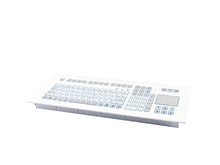 Load image into Gallery viewer, Industrial foil-covered keyboard for front-side integration with integrated touchpad - KS18285/KS18283