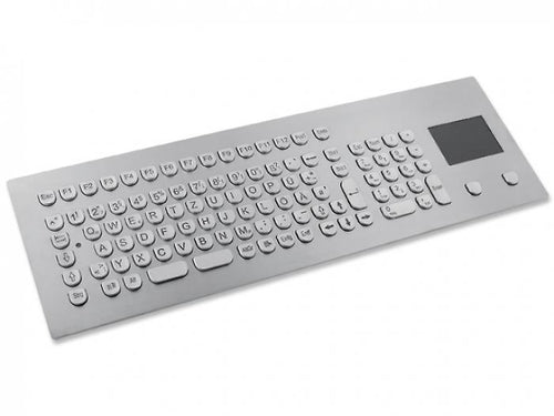 InduSteel³™ -  The stainless steel panel mount keyboard with full layout and touchpad - KV17216