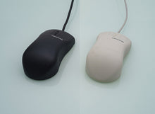 Load image into Gallery viewer, InduMouse™ - the sanitizable, ergonomic full silicone PC mouse in black - KH19216
