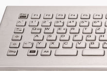 Load image into Gallery viewer, Compact stainless steel keyboard with integrated touchpad and LABS-free option - KV23204