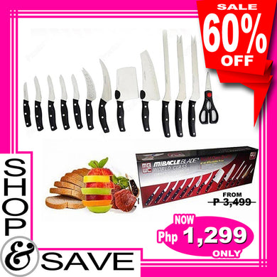 Miracle Blade World Class 13 Piece Knife Set