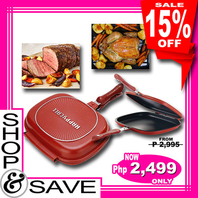 Non Stick Happy Call Double Sided Pan