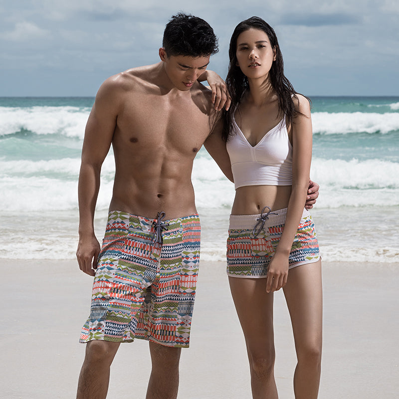 Thailand boardshorts women model