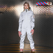 Doorek Superb Unisex Neon One Piece Ski Jumpsuit Snowsuits