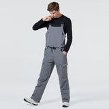 Men's Arctic Queen French Simplicity Snowboard Ski Bib Pants