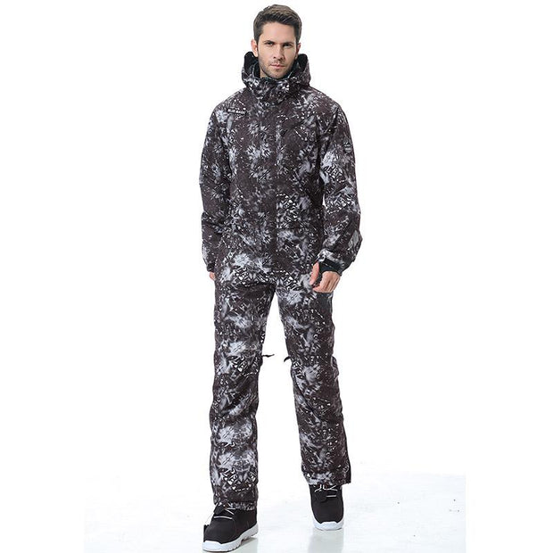 Men's Blue Magic Snowshred All In One Piece Ski Jumpsuit Winter Snowsuits
