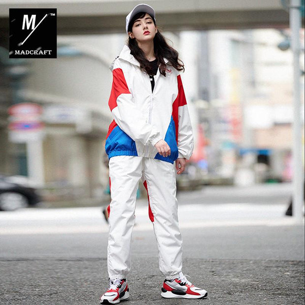 Mad Craft Unisex Anorak Two Pieces Snowboard Suit - Jacket & Pants Set