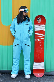 Women's Winter Fashion Mountains Active One Piece Ski Jumpsuit Snowboard Suits