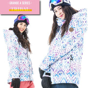 Women's Japan Secret Garden Grande Type-A Pattern Snowboard Jacket