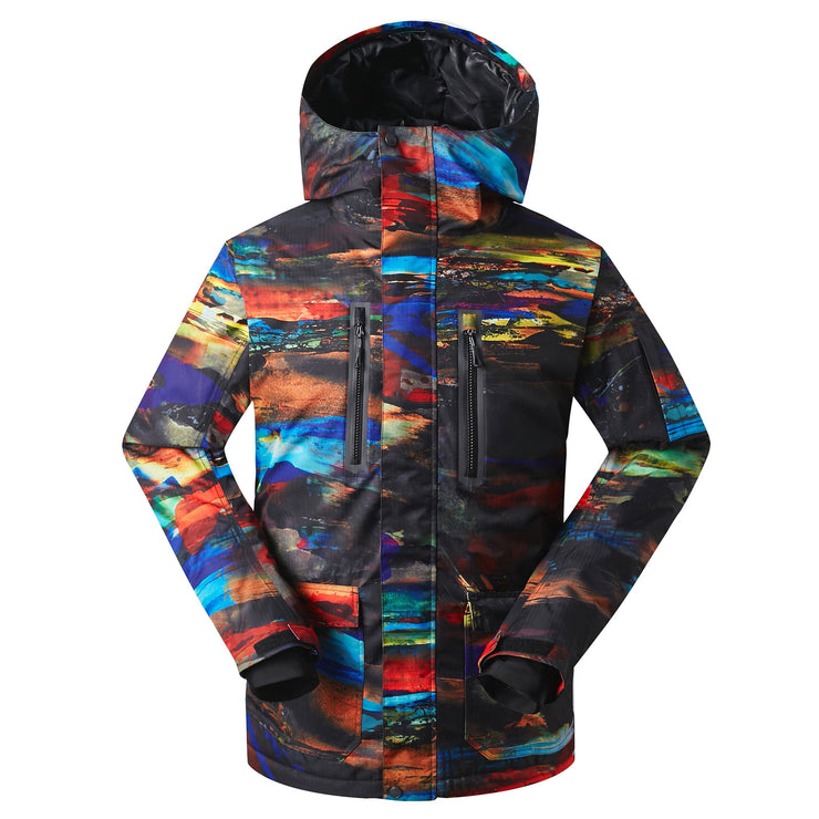 Men's Mountain Elite Sunset Insulated Snowboard Suits - Venturelite