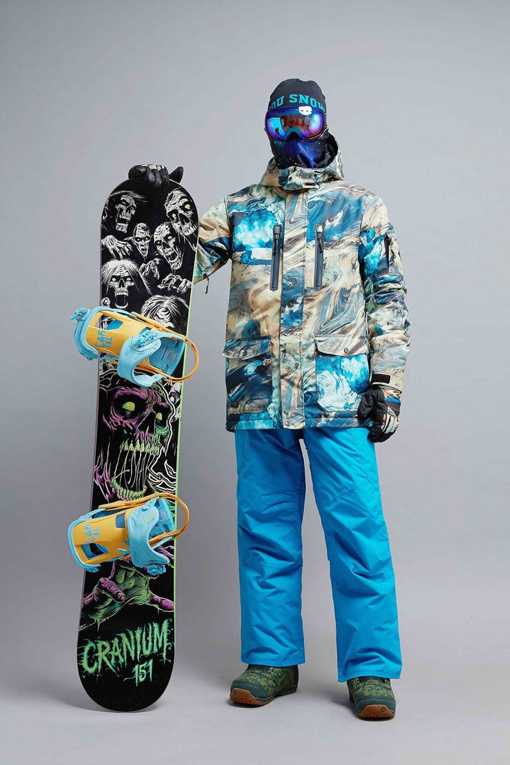 Men's Mountain Elite Tide Insulated Snowboard Suits - Venturelite