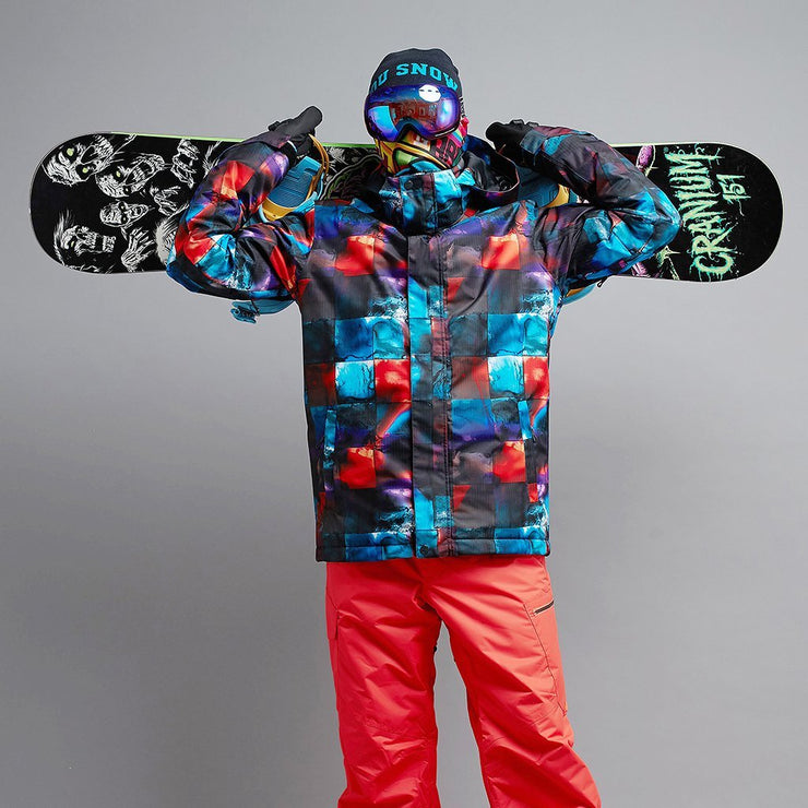 🎿Men's Mountain Pioneer 15k Snow Jacket - Venturelite