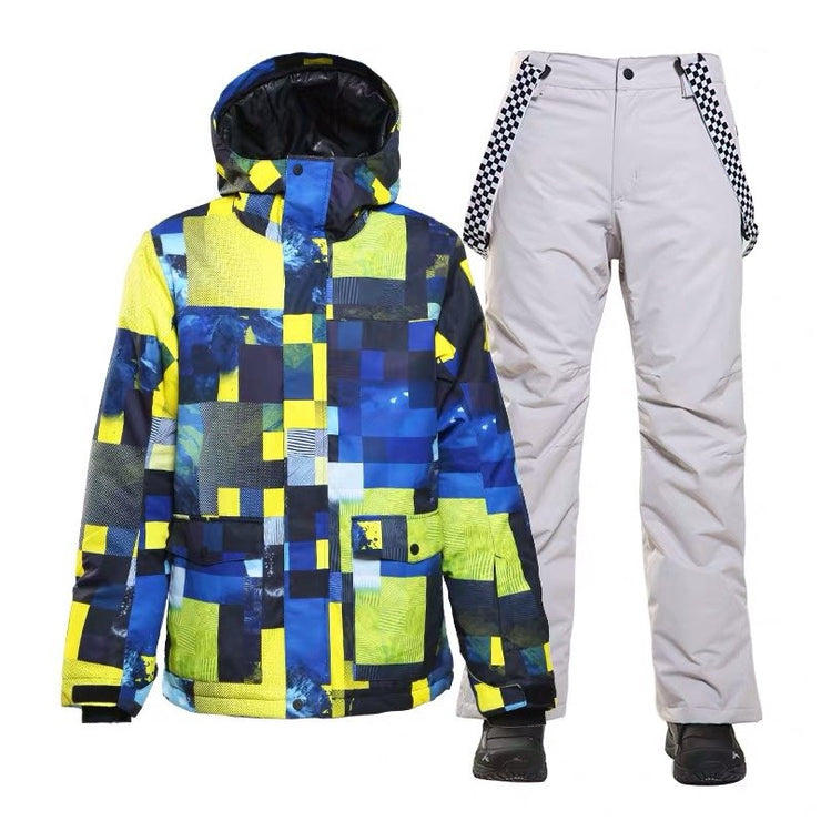 Men's Yellowstone Mountains Freestyle Ski Suits - Venturelite